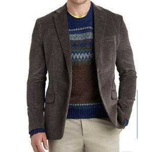 Chaps Slim Fit Brown Corduroy Sports Coat 48R